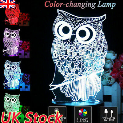 lady-muck1 No Tools Needed Vibrant Neon Owl Childs Bracelet Making Kit