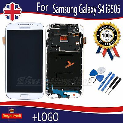 For Samsung Galaxy S4 i9505 White LCD Display Touch Screen Digitizer Assembly UK