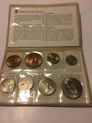 Barclays Set Of Pre Decimal British Coins