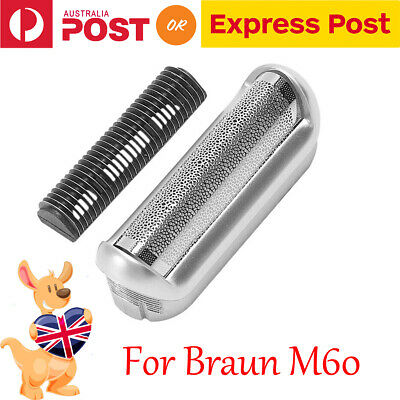 Replacement Razor Foil & Cutter for Braun 5s p40 p50 p60 p70 P80 P90 M30 M60S
