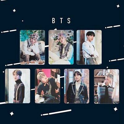 7PCS BTS 2019 5th Muster All Members Photocards JUNGKOOK V Polaroid Cards Newest