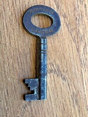 edwardian hobbs & co lever lock key  . ( furniture ) ref 7