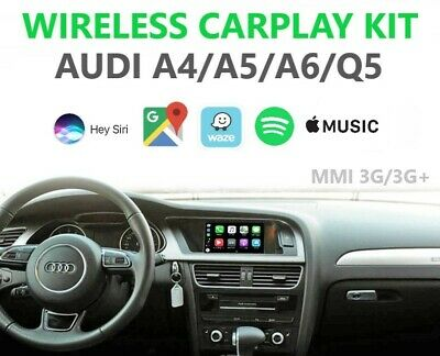 WIRED APPLE CARPLAY Navigation Camera Interface Audi Q3