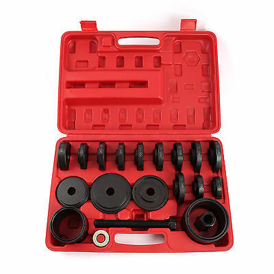 Hot 23pc Wheel Bearing Removal Installation Tool Kit Front Universal press CA