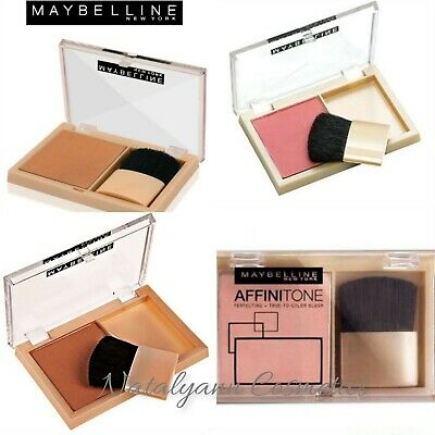 Maybelline Affinitone Blush Powder True to Colour Blusher CHOSE SHADE - SEALED