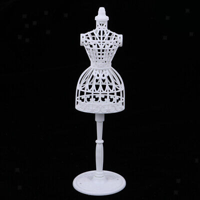 1: 6 Doll Jewelry Display Stand Clothes Hollow out Displaying Holder