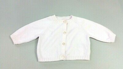 MOTHERCARE Baby GIRLS CARDIGAN Tiny Baby 7.5 lbs Pink