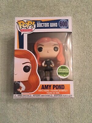 Funko Pop! Doctor Who 2018 Convention Exclusive Amy Pond#600