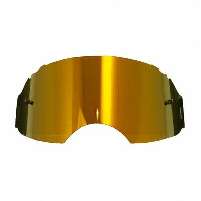 Oakley Airbrake Gold Mirror Motocross Replacement Lens Fast & Free UK Post