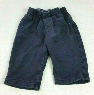 NEXT Baby Boys JOGGERS TROUSERS 6-9 Months Navy Jogging Bottoms