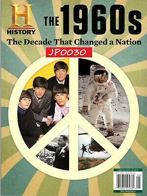 History Magazine 2019, The 1960s, The Decade That Changed A Nation, New/Sealed