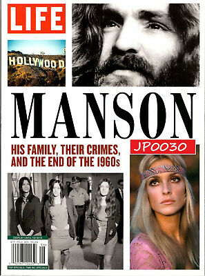 LIFE Special 2019, Manson, His Family, Their Crimes, New/Sealed