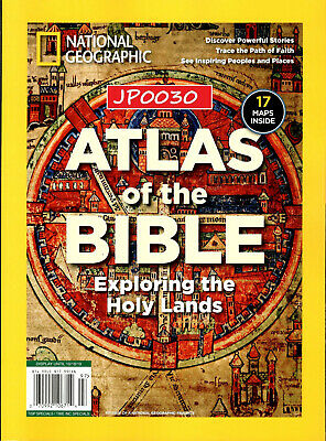 National Geographic 2019, Atlas Of The Bible, New/Sealed, Reissue