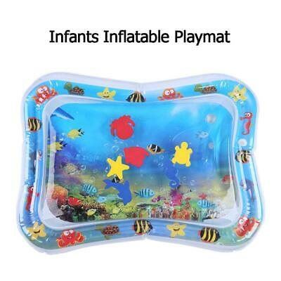 Baby Kids Water Play Mat Inflatable Infants Tummy Time Playmat Toy #F8s