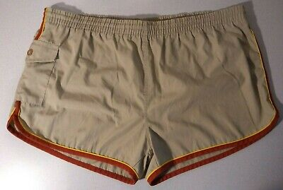 Vintage 60's/70's Remington Swimsuit Swim Trunks with Pocket - Size Large