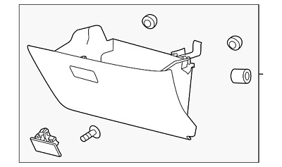 Genuine Ford Glove Box Assembly CT4Z-7806024-AB