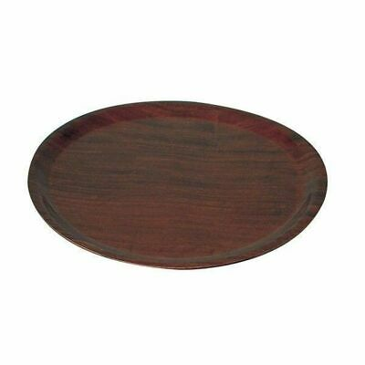 Wood Tray / Pizza Serving Tray, 330mm, Mahogany Colour, Cafe / Restaurant