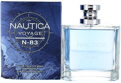 993ef9a7 NAUTICA VOYAGE N-83 by Nautica 3.4 oz EDT Cologne for Men New In Box ...