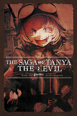 NEW The Saga of Tanya the Evil By Carlo Zen Paperback Free Shipping