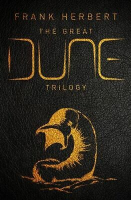 NEW The Great Dune Trilogy By Frank Herbert Hardcover Free Shipping