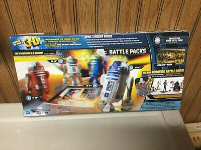 Star Wars battle pack royal starship Droids  Walmart Exclusive SEALED RARE