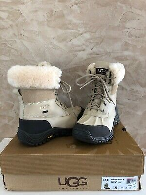 0c19a894142 UGG ADIRONDACK II Sand Waterproof Leather Snow WinterBoots Size US 8 NEW IN  BOX
