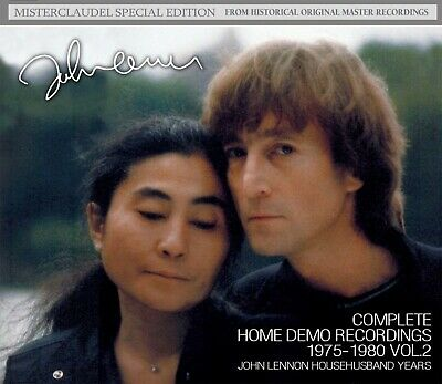 John Lennon Complete Home Demo Recordings 1975-1980 Vol.2 Househusband Years 5Cd