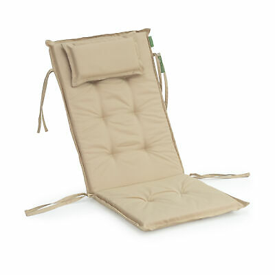 Green Replacement High Back Chair Dining Seat Cushion Pad Patio Garden Outdoor