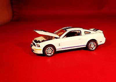 Gl '07 Ford Mustang Shelby Gt 500 Muscle Car Limited Edition With Rubber Tires