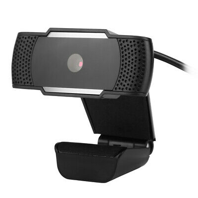 USB 12 Megapixel HD Webcam Web Cam Camera &Microphone Mic For PC Laptop Skype AU