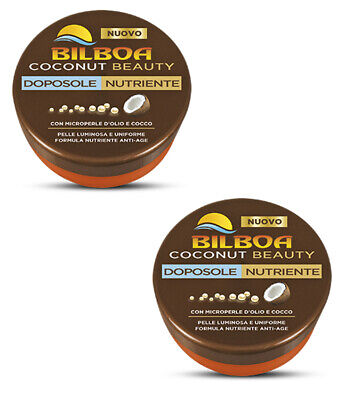 2pz BILBOA COCONUT BEAUTY DOPOSOLE NUTRIENTE NUOVO latte solare creme 250ml