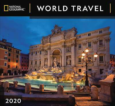 National Geographic, World Travel Deluxe Calendar 2020