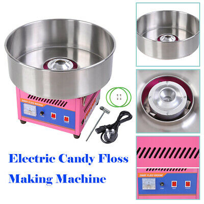 Candy Floss Making Machine Cart Cotton Candyfloss Commercial Maker Sugar Party