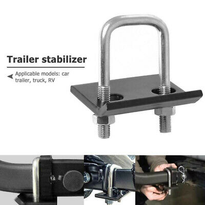 1pc Lock Down Hook Stabilizer U-Bolt Anti-Rattle Hitch Tightener Clamps Durable