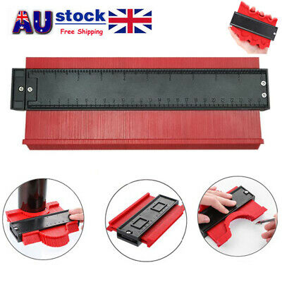10'' Shape Contour Duplicator Profile Gauge Tiling Laminate Measure Ruler Tool