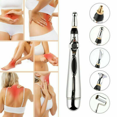 Electronic Acupuncture Pen Meridian Energy Heal Massage Pain Therapy Relief Hot