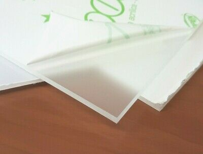Frosted Effect Acrylic Perspex Sheet Custom Cut To Size Plastic Privacy Panels