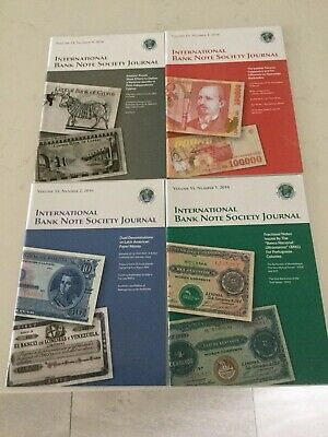 The Journal of the International Banknotes Society Vol.55/2016 Num.1/2/3/4