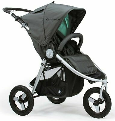 Bumbleride Indie Compact Lightweight All Terrain Stroller Dawn Grey Mint