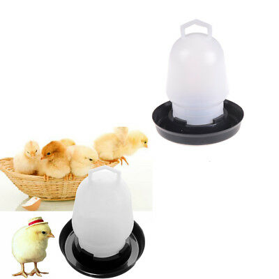 Automatic Pet Feeder Chicken Quail Poultry Bird Pheasant Feed Water Tool LI