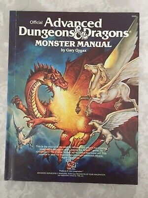 Advanced Dungeons & Dragons Monster Manual - Gary Gygax. 4th Edition