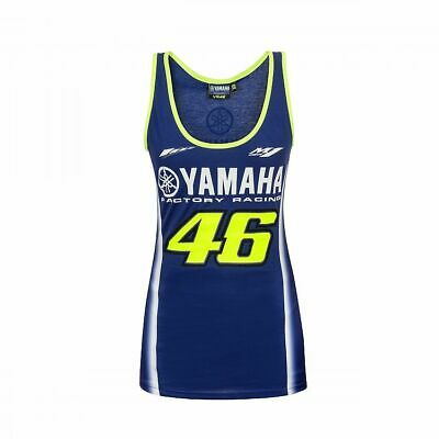 Valentino ROSSI VR46 2018 Moto GP Yamaha Tank top Vest - Ladies / Womens
