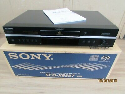 Sony Scd Xe597 Cd Player Excellent Condition Hardly Used (2)