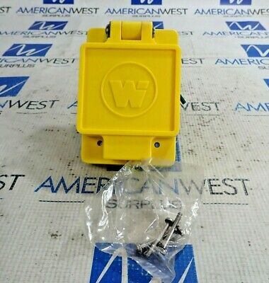 Daniel Woodhead 69W48 Watertite Flip Lid Female Receptacle 30A 250V