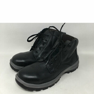 5057e44145f 53030 HYTEST UNISEX Steel Toe EH Safety Boots - Black 10 W