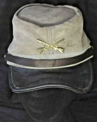Civil War Reenactment Hat w/Tony Alamo of Nashville Tag/Made in USA - Size Small