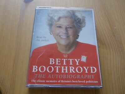 Betty Boothroyd - The Autobiography Audio Cassettes Free Post
