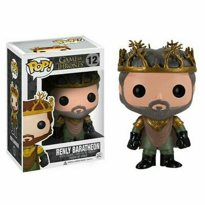 Funko Pop Game of Thrones Renly Baratheon #12 Figurine Rare Collection Figure
