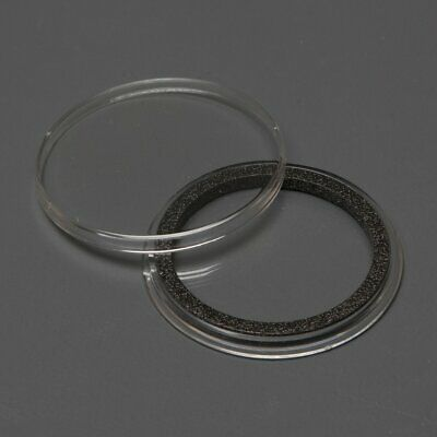1 AIRTITE COIN HOLDER CAPSULE BLACK RING 37 MM