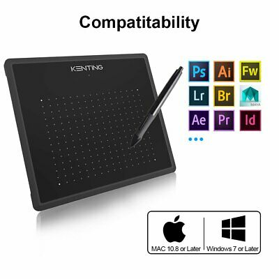 """Large Signature Pad Graphic USB Drawing Tablet for Window Mac 5.4x 4"""" 4096 Level"""